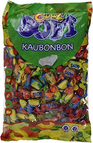Cool Soft Kaubonbons | vegan und glutenfrei | im  Beutel, 1er Pack (1 x 1 kg)