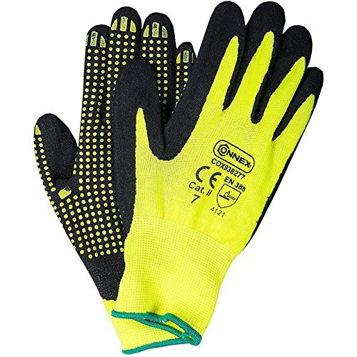 Connex Handschuhe Nitril Noppen, Große 9, COX938279