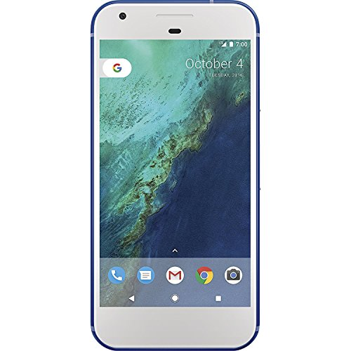 Google Pixel 32GB GSM Unlocked (Renewed) (Blue)