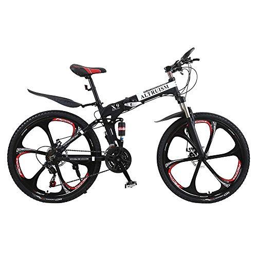 ALTRUISM Vélo VTT 26 Pouces pour Homme et Femme avec Frein à Disque arrière (Noir)