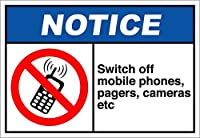 ヘビーデューティーメタルティンサインアルミサイン、スイッチオフ携帯電話ポケットベルカメラなど通知zx、メタルSignFunティンサインバー居酒屋ガレージディナーカフェホームウォールデコレーターアールデコポスター