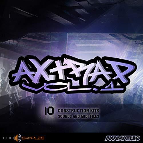 AX Trap Vol. 1 - 10 Construction Kits for Production Trap Music | DVD non Box