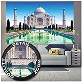 Great Art XXL Poster – Taj Mahal – Wanddekoration