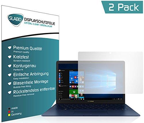 Slabo 2 x Bildschirmschutzfolie für Asus Zenbook 3 12,5