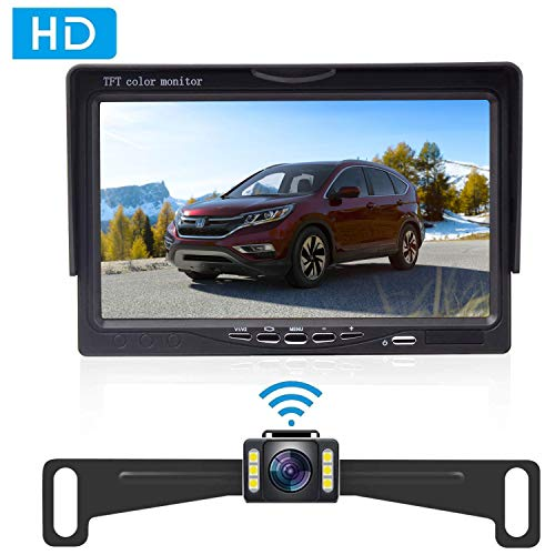 auto backup camera wireless - 9