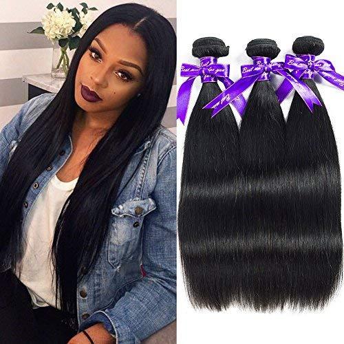 Alibeauty Brazilian Hair 返品不可 3 Bundles St 100% Unprocessed 8a Virgin 半額