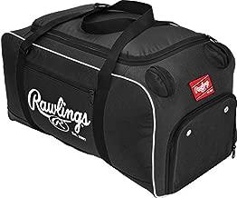 Rawlings Covert Player Duffle Bag, Black, 26