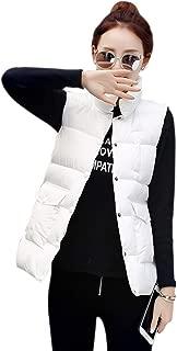 XFentech Women's Quilted Gilet - Casual Warm Winter Autumn Vest Down Sleeveless Jacket Outwear Bodywarmer Coat