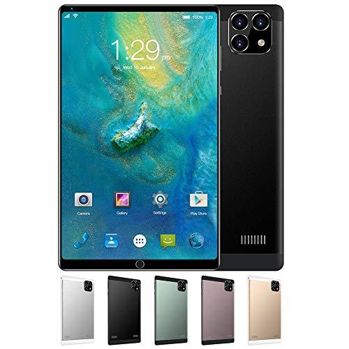 ELLENS Tablet da 8 Pollici, Telefono Android Sbloccato 3G, Doppia SIM Gratuita, 1 GB di RAM 16 GB di Estensione Rom da 128 GB, processore Quad-Core, WiFi + GPS + FM + Bluetooth