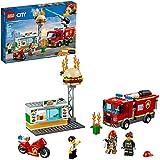 LEGO City Burger Bar Fire Rescue 60214 Building...