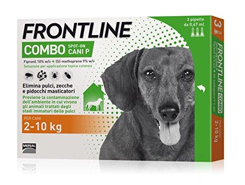 Frontline Combo chien petit (2-10 kg) - Contre puces, tiques, poux