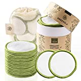 Greenzla Reusable Makeup Remover Pads (20 Pack) With Washable Laundry...