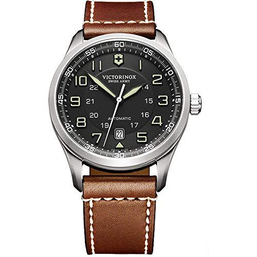 Victorinox Airboss Mechanical für Herren - Swiss Made Automatic Stainless Steel Watch 241507