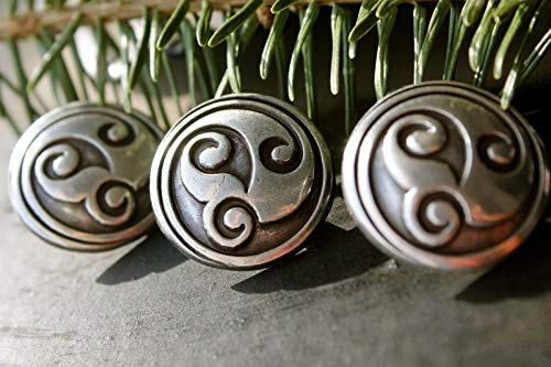 Quality Western Concho 1 Abstract Celtic Screwback Concho 1 Piece Package (Beautiful Western Style Conchos)