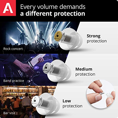 Alpine MusicSafe Pro Gehörschutz Ohrstöpsel für Musiker - 3