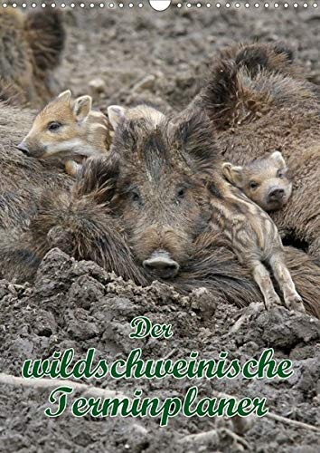 Der wildschweinische Terminplaner (Wandkalender 2020 DIN A3 hoch): Schwarzkittel in heimischen Wäldern (Planer, 14 Seiten ) (CALVENDO Tiere)