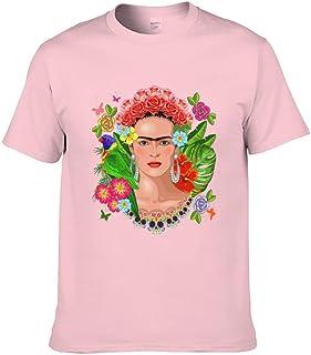 Camiseta de Frida Arte Vintage Autorretrato Ropa Diseño Original Estilizada Mujer Personalizado