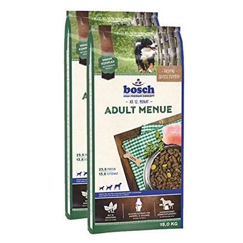 bosch Hundefutter Verschiedene Sorten 2x15kg Menü