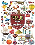 Viaje: Juegos educativos niños 3-6 años, Busca y encuentra 84 objetos ocultos en el aeropuerto, en París, Londres, en las pirámides...