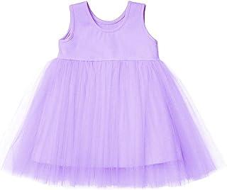 Yinqusiting Baby Girls Black Dress Tutu Long Sleeves Ruffle Tulle 6-48m