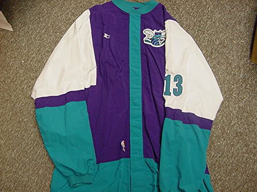 Bobby Phills Charlotte Hornets Game Worn Jacket