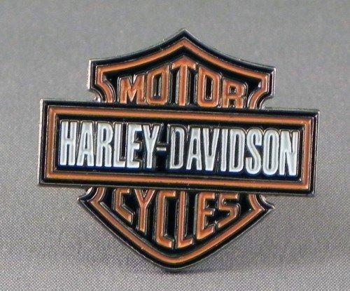 Metall-Emaille-Brosche mit Logo von Harley Davidson