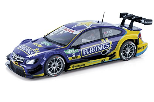 Scalextric - Mercedes AMG C-Coupé DTM Paffett Euronics, Coche de Juguete (A10214S300)