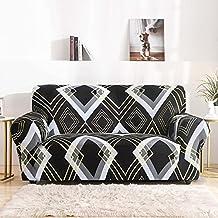 Housse de canapé d'angle antidérapante en Forme de L, Housse de canapé élastique combinée, Housse de canapé étroitement en...