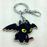 How to Train Your Dragon Night Fury Toothless Figure Shaped Keychain