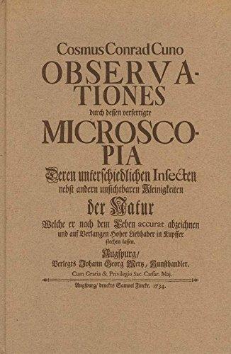 Microscopia. Einführung von Armin Geus.