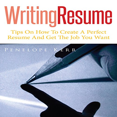 Writing Resume audiobook cover art