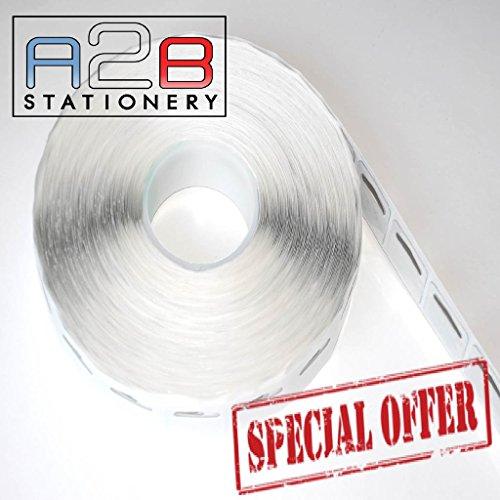 1000 x Self Adhesive Euro Hook / Slot / Hang Tabs 44mm x 36mm-275micron Strong Hang Tab Free Delivery
