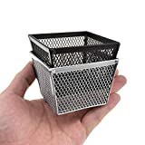 Get Hahiyo Stackable Paper Clip Mesh Holder Cup 2.2