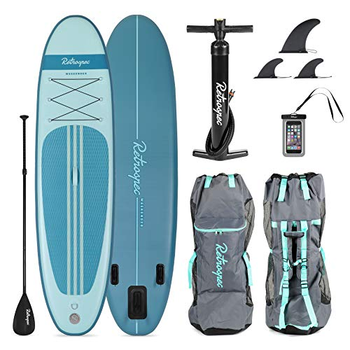 Retrospec Weekender 10ft Inflatable Stand Up Paddleboard