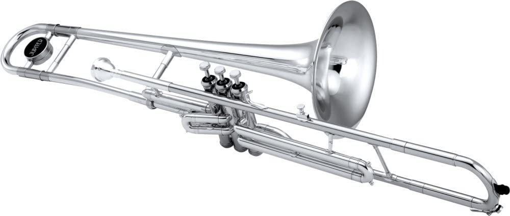 Jupiter Credence 530 Series OFFicial mail order C Valve Brass Silver Trombone Yellow Bell