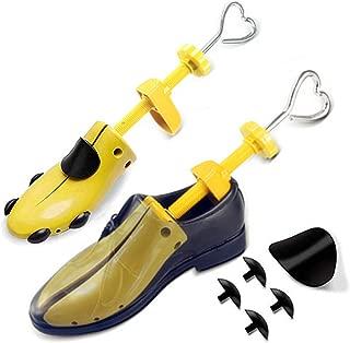2PCS Hormas Zapatos Mujer Hombre Robusta Ensanchador de Zapatos Ajustable Longitud y Anchura Independiente Horma Ensanchar Zapatos