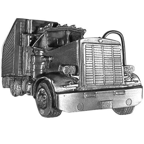 Siskiyou Long Nose Truck Antiqued Belt Buckle