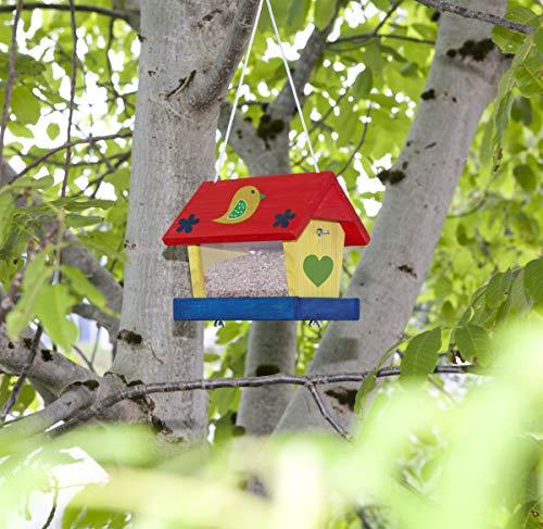 Windhager Vogelfuttersilo-Bausatz Woodpecker, beige - 4