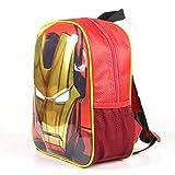 Artesania Cerda Avengers Iron Man, Equipaje para niños, 31 cm, Rojo