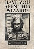 ABYstyle - HARRY POTTER - Poster - Wanted Sirius Black