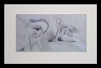 Pablo Picasso (1881-1973) Color Lithograph - 8.Mai.37 II -Guernica Study no. 13 - S.P.A.D.E.M Authorized - Emboss Sealed N...