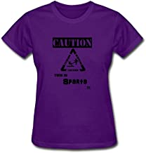 Women's Caution This Is Sparta Short Sleeve T-Shirt