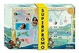 HOVUK - Pulsera de vaiana con licencia de Disney para niñas,...