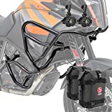 Set Defensas + Faro Adicional XL para KTM 1090 Adventure/R 17-19 Negro + K3