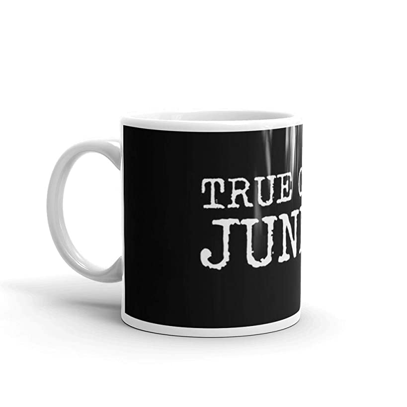 True Crime Junkie 11 Oz White Ceramic