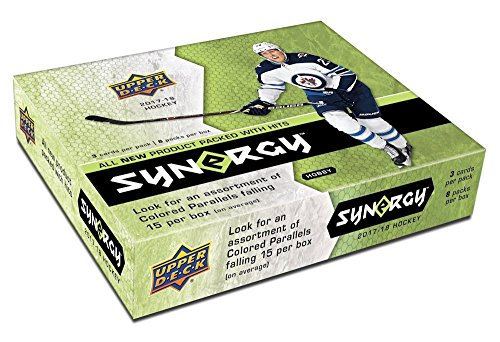 2017/18 Upper Deck Synergy Hockey Hobby Box