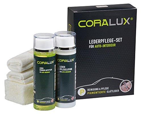 CORALUX Lederpflege Set für Autoleder von LCK KERALUX