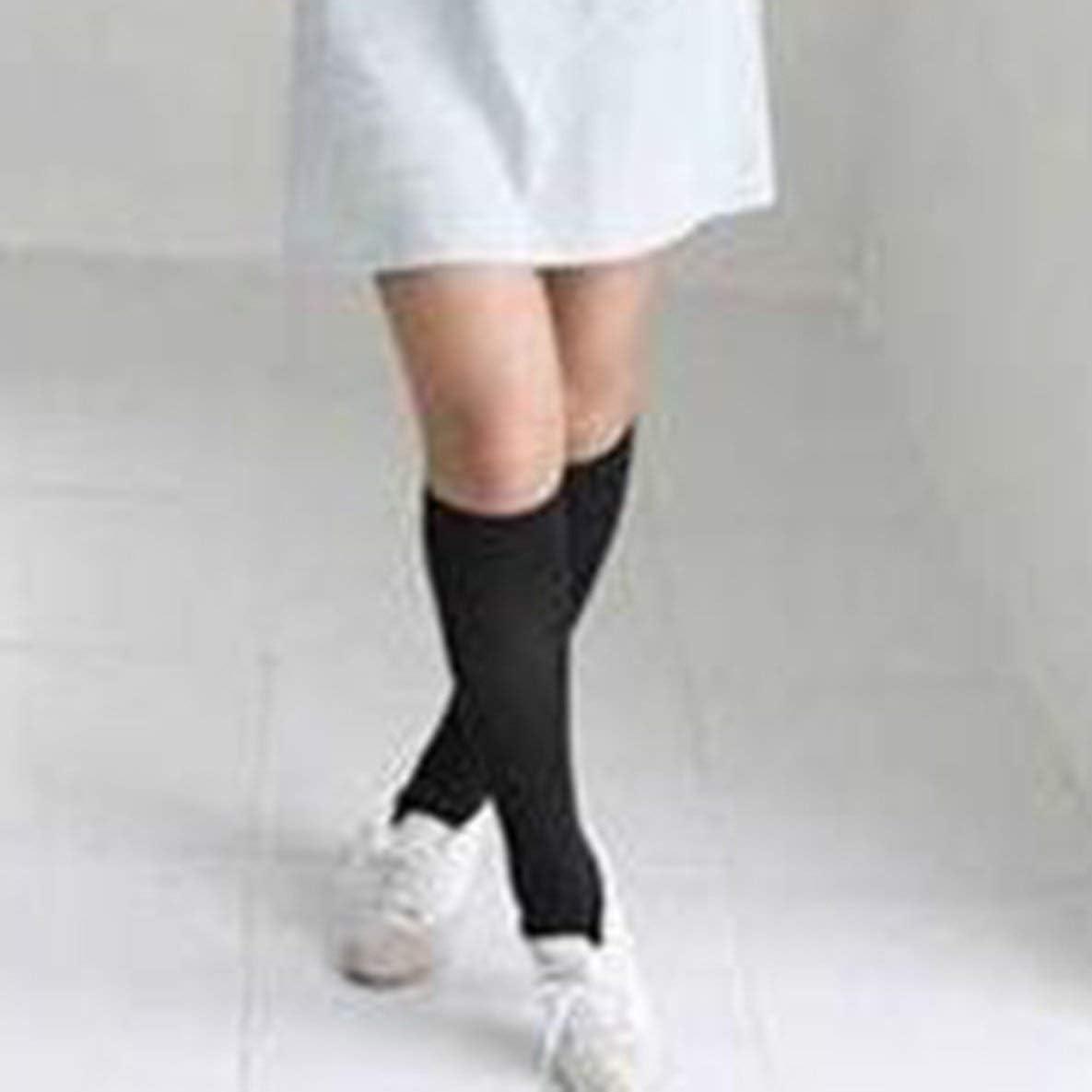 Nero Studentesse delle scuole Superiori Anime Calze Cosplay Coscia di Velluto Bianco Nero Calze Alte Calze sopra Il Ginocchio nbvmngjhjlkjlUK Calze Alte di Gilrs