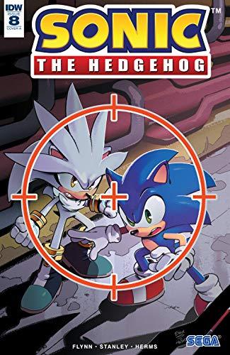 Amazon Com Sonic The Hedgehog 2018 8 Ebook Flynn Ian Stanley Evan Kindle Store