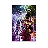 TINGTAI Lebron James Basketball-Poster, klassischer